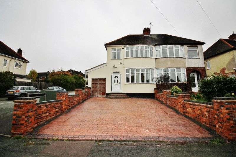 3 Bedrooms Semi Detached House for sale in Lynton Avenue, Wolverhampton