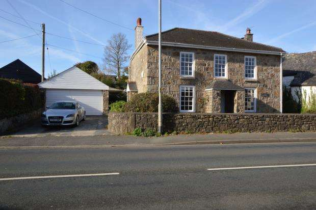 4 Bedrooms Detached House for sale in Lelant, St. Ives, Cornwall
