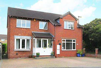 4 Bedrooms Detached House for sale in Thorpe Drive, Waterthorpe, Sheffield, South Yorkshire