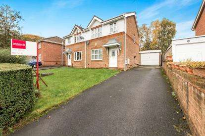 3 Bedrooms Semi Detached House for sale in Courtyard Drive, Worsley, Manchester, Greater Manchester
