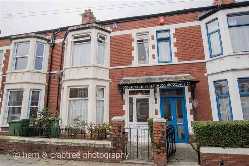 3 Bedrooms Property for sale in Fairfield Avenue, Canton, Cardiff