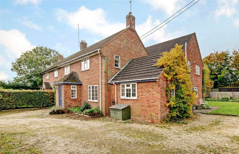 4 Bedrooms Semi Detached House for sale in Clatford, Marlborough, Wiltshire, SN8