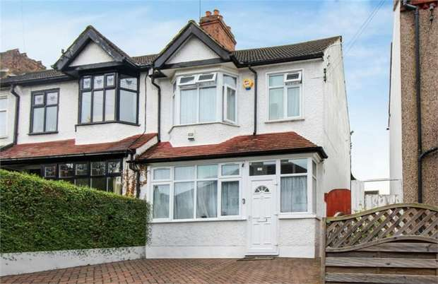 4 Bedrooms End Of Terrace House for sale in Burlington Road, Thornton Heath, Surrey