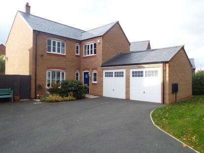 4 Bedrooms Detached House for sale in Stryd Yr Alarch, Ruthin, Denbighshire, North Wales, LL15