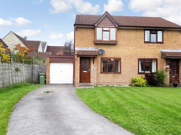 2 Bedrooms Semi Detached House for sale in Bishopslea Close, Wells