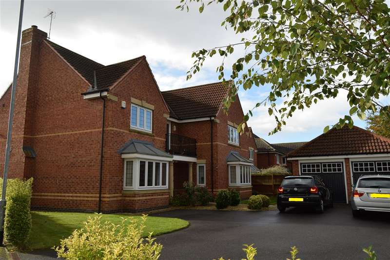 5 Bedrooms Detached House for sale in Thomas Road, Fernwood, Newark