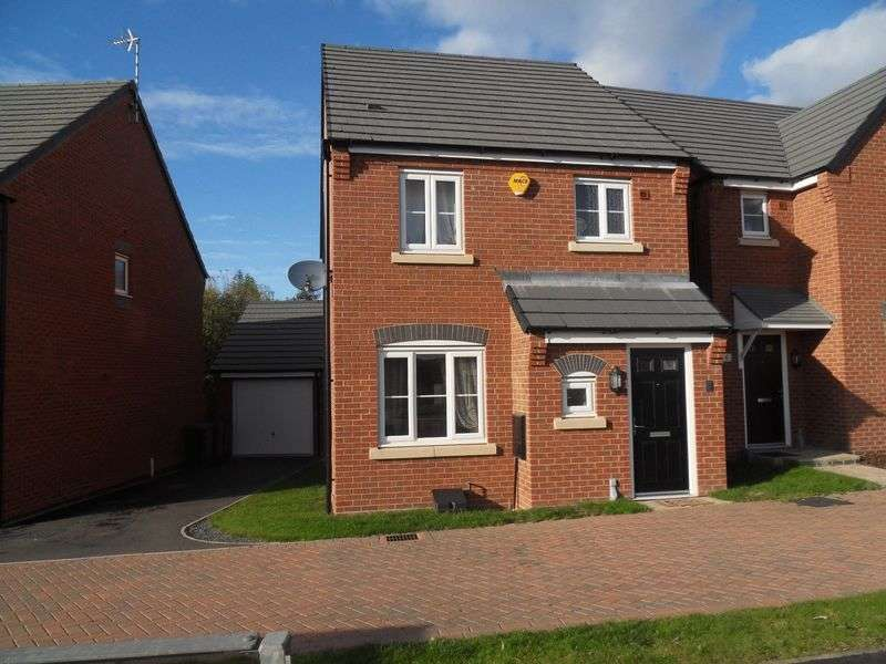 3 Bedrooms Detached House for sale in Jackson Road, Coalville
