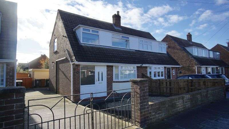 3 Bedrooms Semi Detached House for sale in WEST MOOR DRIVE, West Moor