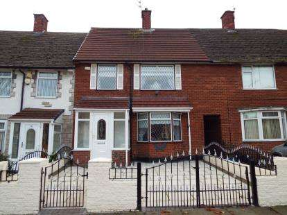 3 Bedrooms Terraced House for sale in Central Way, Liverpool, Merseyside, L24