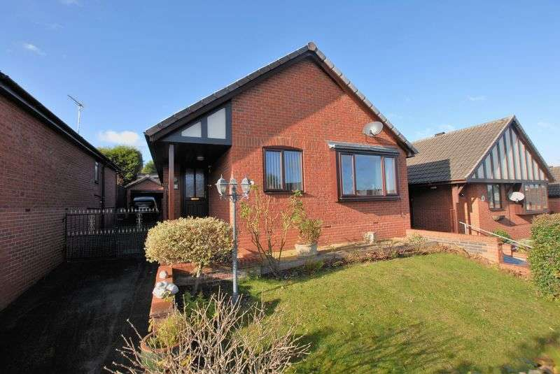 3 Bedrooms Detached Bungalow for sale in Curlew Close, Uttoxeter