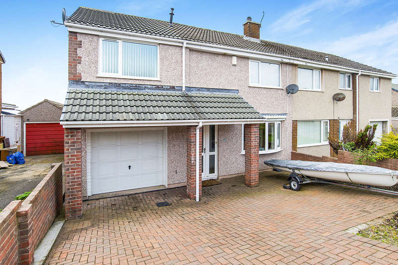 4 Bedrooms Semi Detached House for sale in Cross Lane, Whitehaven, CA28