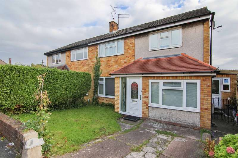 Semi Detached House for sale in Mountbatten Close, Roath Park, Cardiff