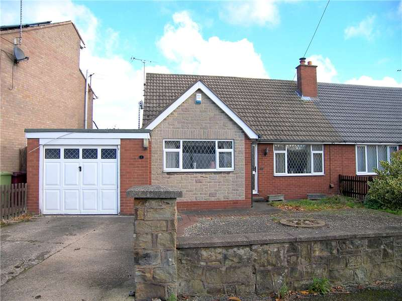 3 Bedrooms Semi Detached Bungalow for sale in Common Lane, Shirland, Alfreton, Derbyshire, DE55