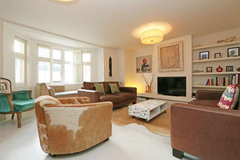 3 Bedrooms Apartment Flat for sale in Park Hill, Clapham, London SW4 9NX