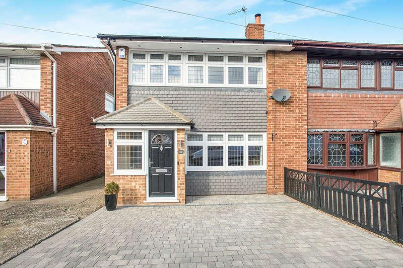 3 Bedrooms Semi Detached House for sale in Lonsdale Crescent, Dartford, DA2