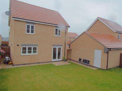 3 Bedrooms Detached House for sale in Roy Brown Drive, Sileby, Loughborough, Leicestershire