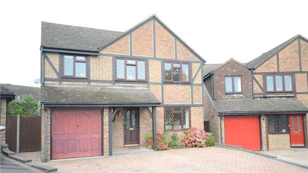 5 Bedrooms Detached House for sale in Darleydale Close, Heath Park, Sandhurst