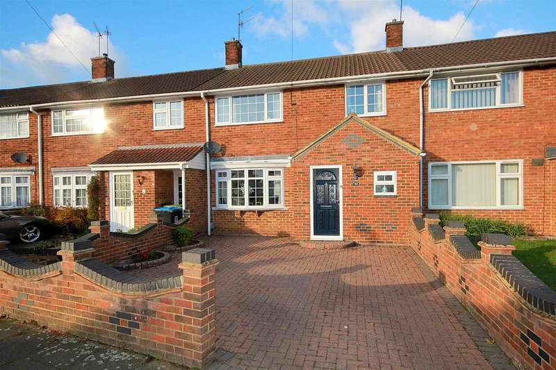 3 Bedrooms Terraced House for sale in 3 BED WITH DOUBLE GARAGE AND CONSERVATORY IN White Hart Drive, ADEYFIELD