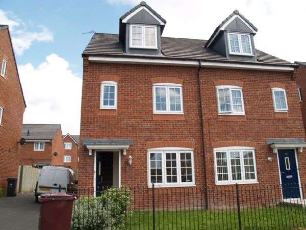 3 Bedrooms Semi Detached House for sale in James Holt Avenue, Kirkby, LIVERPOOL