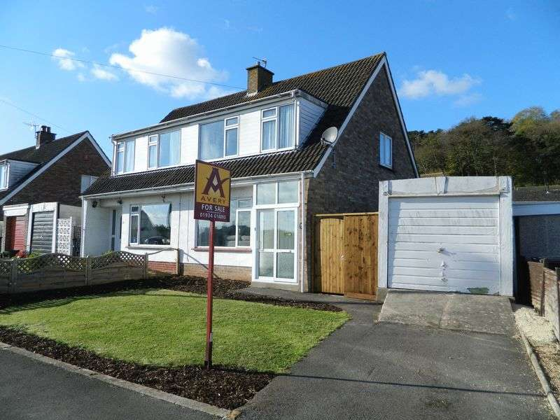 3 Bedrooms Semi Detached House for sale in WORLE HILLSIDE