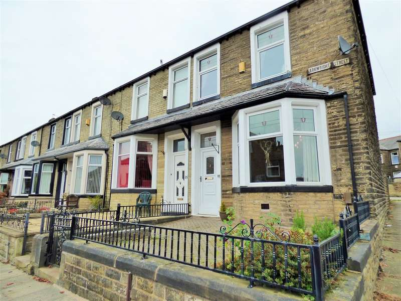 2 Bedrooms End Of Terrace House for sale in Arkwright Street, Burnley