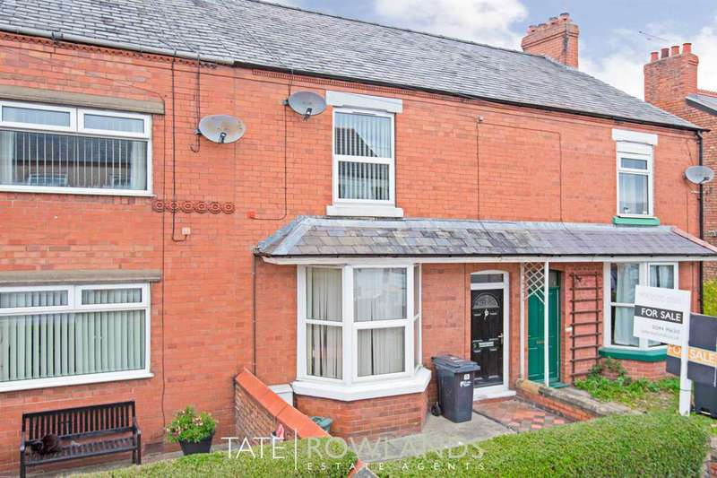3 Bedrooms Terraced House for sale in Fairfield Road, Deeside