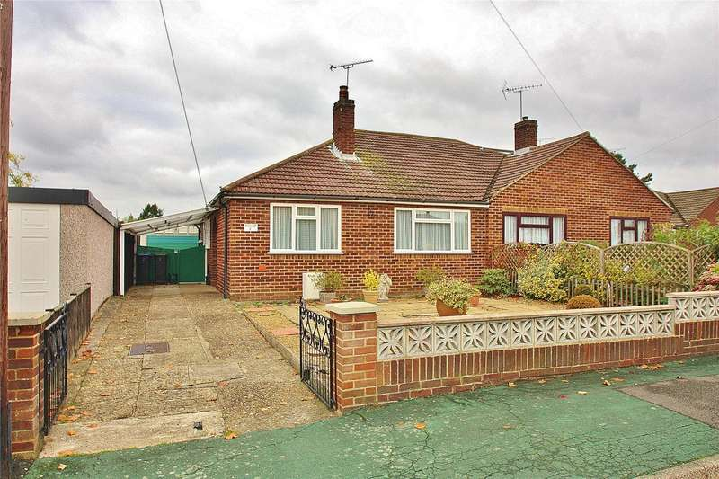 2 Bedrooms Semi Detached Bungalow for sale in Burnham Close, Knaphill, Woking, Surrey, GU21