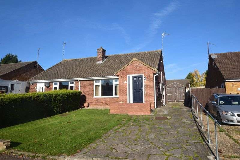 2 Bedrooms Semi Detached Bungalow for sale in Milton Grove, Bletchley, Milton Keynes
