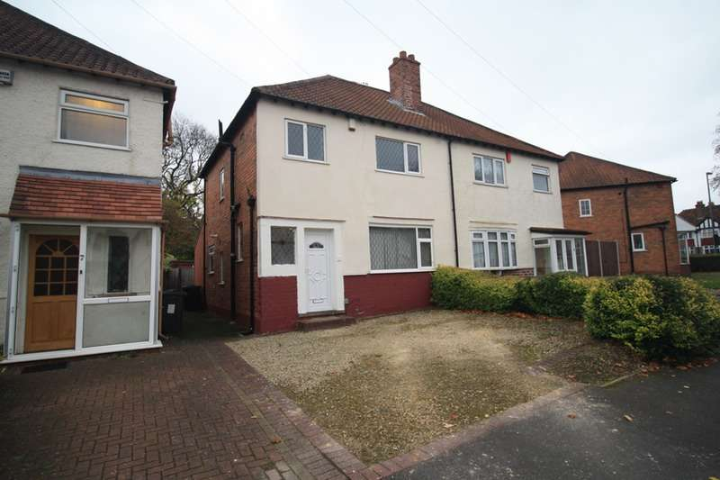 3 Bedrooms Semi Detached House for sale in Finmere Road, Birmingham, West Midlands, B28