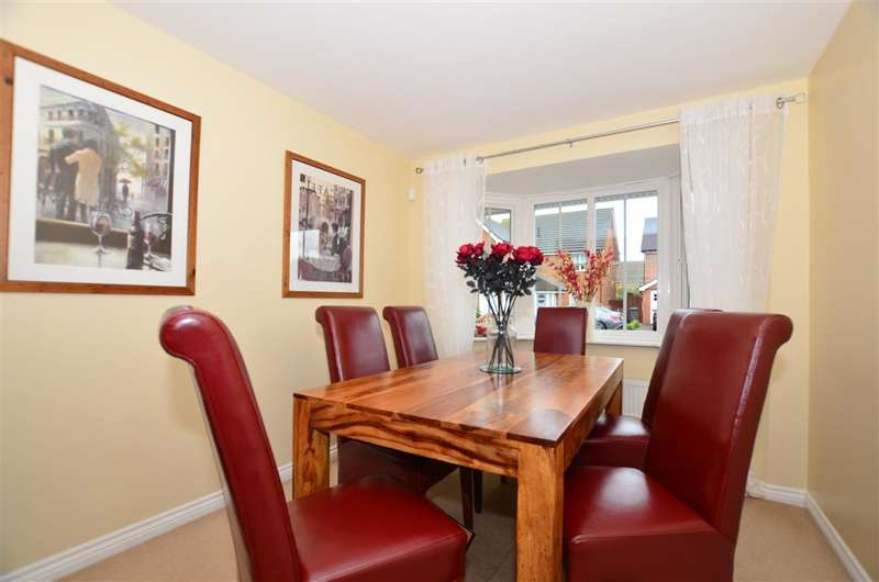 4 Bedrooms Detached House for sale in Eversleigh Rise, Whitstable, Kent