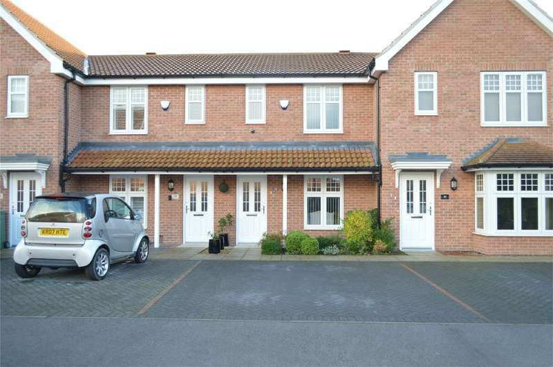 2 Bedrooms Terraced House for sale in 50 Rawson Way, HORNSEA, East Riding of Yorkshire