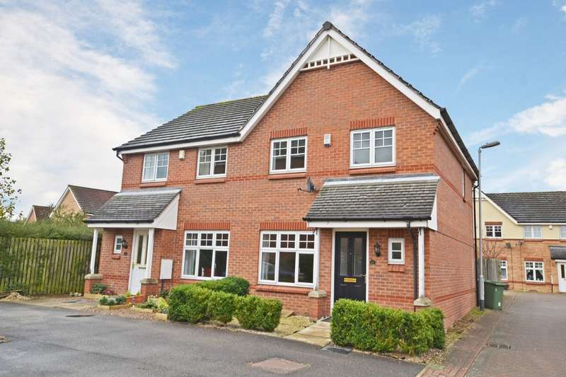 3 Bedrooms Semi Detached House for sale in Mill Chase Close, Wakefield
