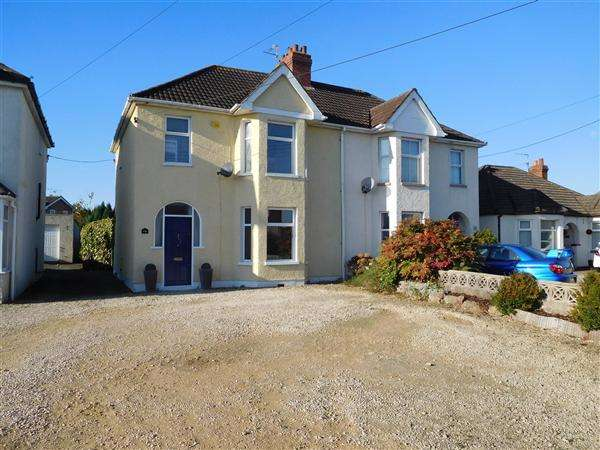 3 Bedrooms Semi Detached House for sale in Newport Road, Caldicot