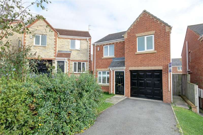 3 Bedrooms Detached House for sale in Eshwood View, Ushaw Moor, Durham, DH7