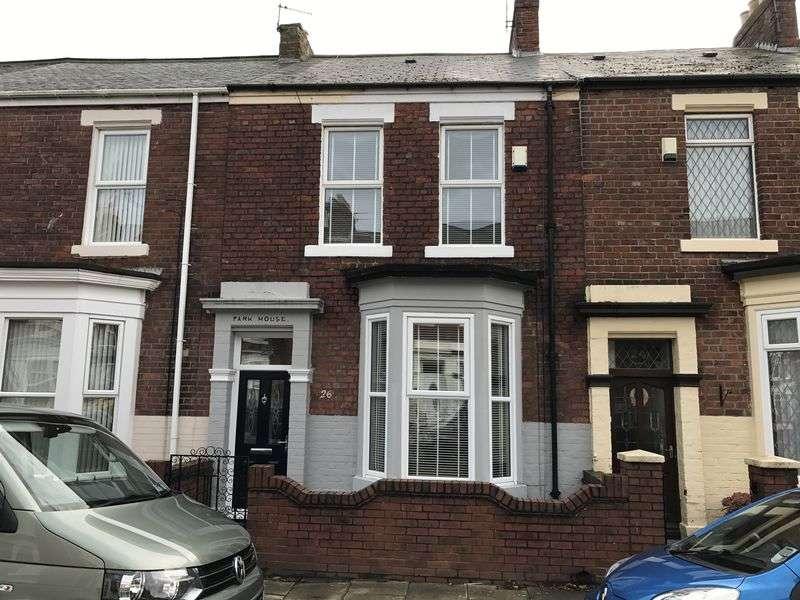 2 Bedrooms Terraced House for sale in Vespasian Street, South Shields