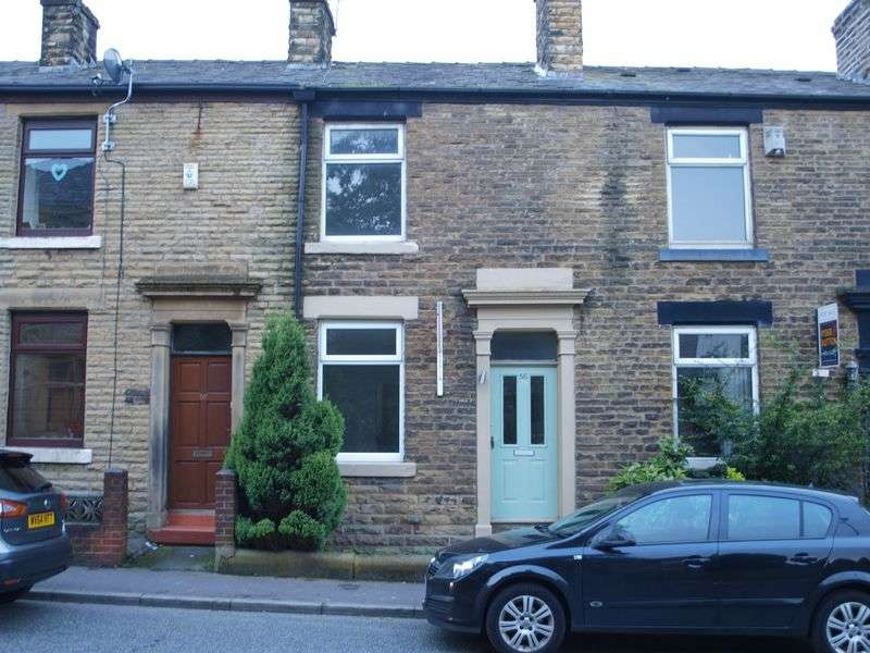 2 Bedrooms Terraced House for sale in Newhey Road, Milnrow, OL16 4JD