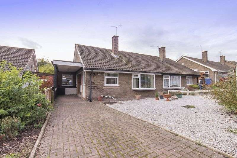 3 Bedrooms Semi Detached Bungalow for sale in VICARAGE ROAD, MICKLEOVER