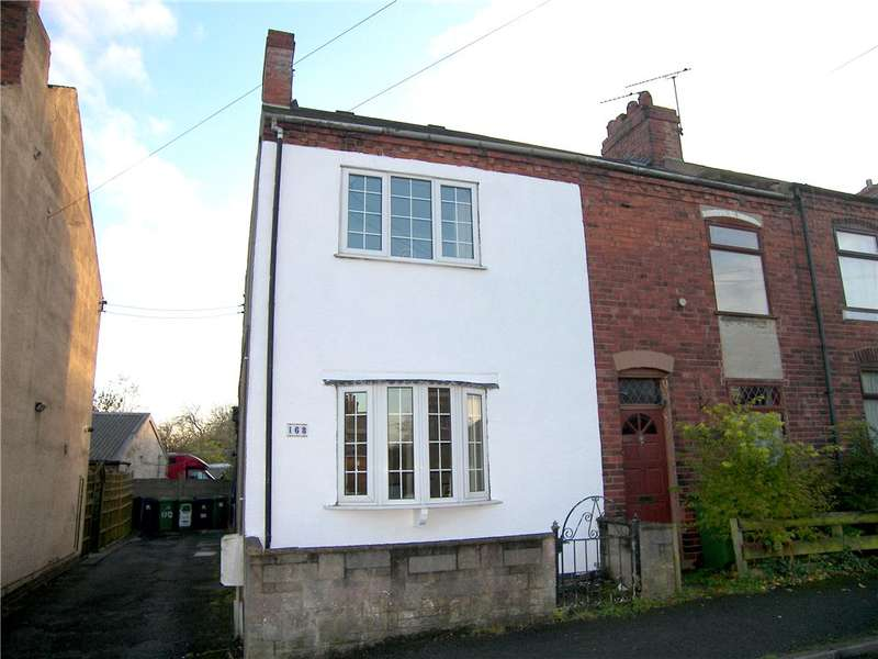 2 Bedrooms End Of Terrace House for sale in Birchwood Lane, Somercotes, Alfreton, Derbyshire, DE55