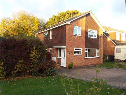 4 Bedrooms Detached House for sale in Granby Close, Redditch, Worcestershire
