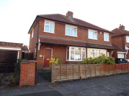 3 Bedrooms Semi Detached House for sale in Bembridge Road, Leicester, Leicestershire