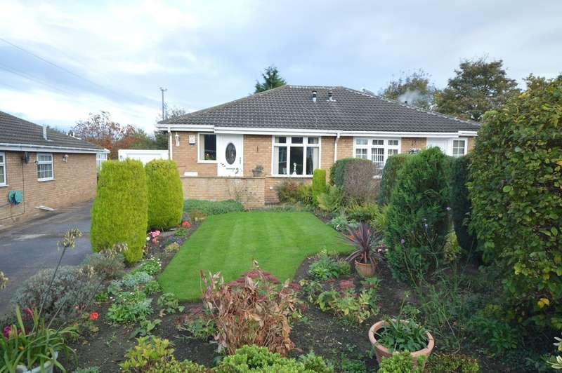 2 Bedrooms Semi Detached Bungalow for sale in Kirkdale Drive, Calder Grove, Wakefield