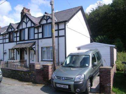2 Bedrooms End Of Terrace House for sale in Vaynol Cottages, Llanberis, Caernarfon, Gwynedd, LL55