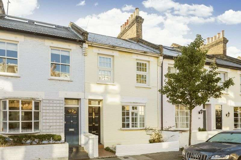 3 Bedrooms Terraced House for sale in Charles Street, Barnes, London, SW13