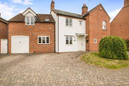 5 Bedrooms Detached House for sale in Burton Road, Rosliston, Swadlincote, Derbyshire
