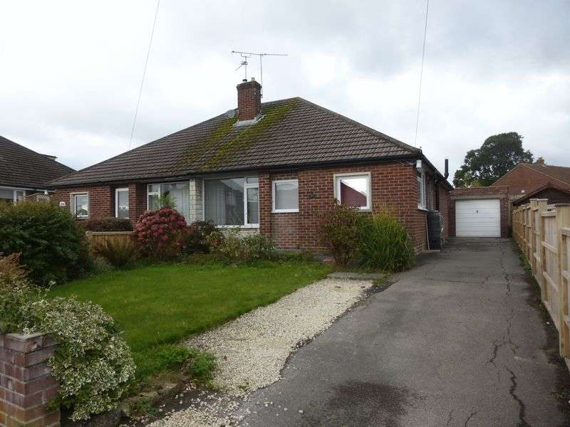 2 Bedrooms Semi Detached Bungalow for sale in High Lea, Yeovil