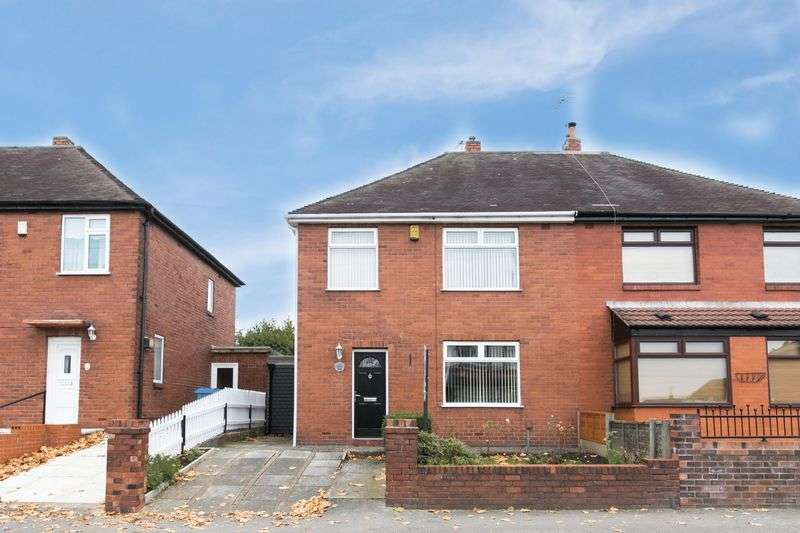 3 Bedrooms Semi Detached House for sale in Springfield Road, Springfield, WN6 7RH
