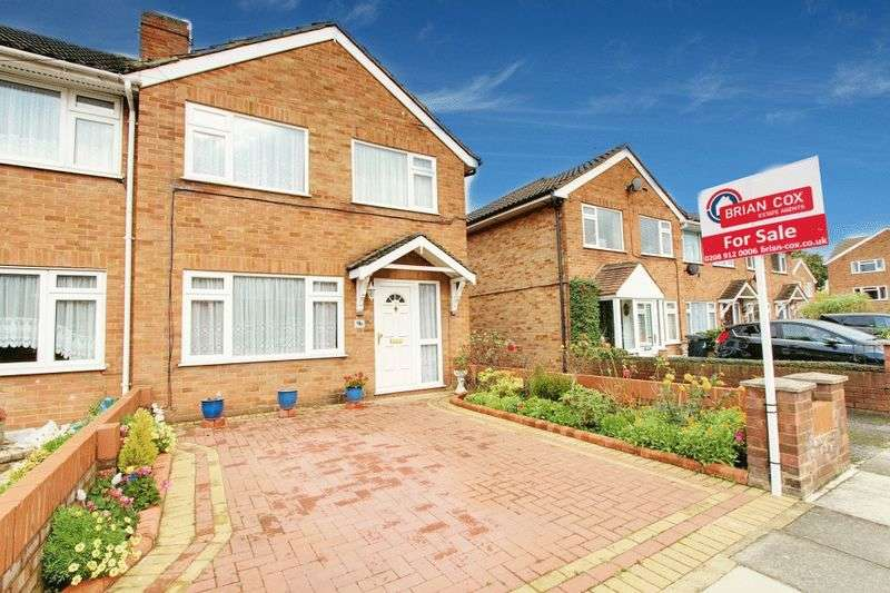 3 Bedrooms Terraced House for sale in Kingston Close, Northolt