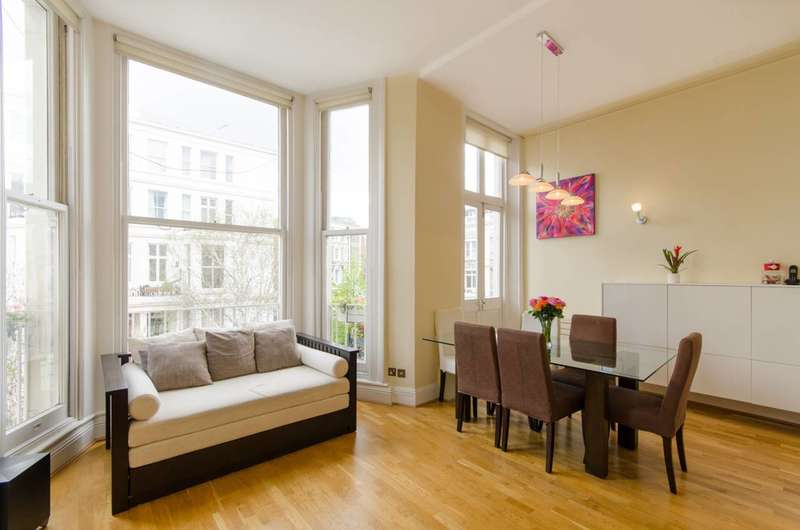 2 Bedrooms Flat for sale in Longridge Road, Earls Court, SW5