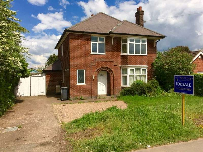 3 Bedrooms Detached House for sale in Bardon Road, Coalville