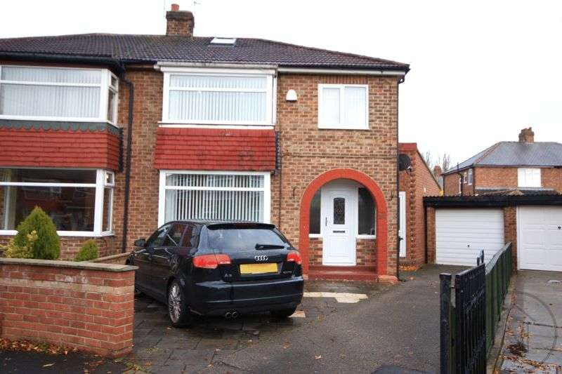 3 Bedrooms Semi Detached House for sale in Whitwell Road, Darlington